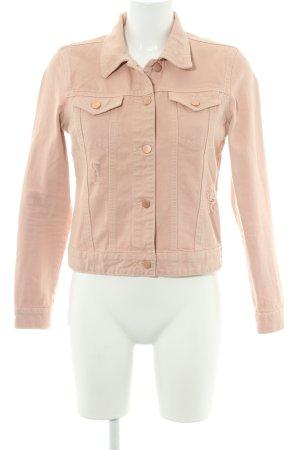 Dorothy Perkins Jeansjacke roségoldfarben-altrosa Casual-Look