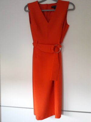 Dorothy Perkins Pencil Dress salmon spandex