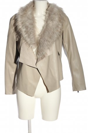 Dorothy Perkins Faux Leather Jacket natural white casual look