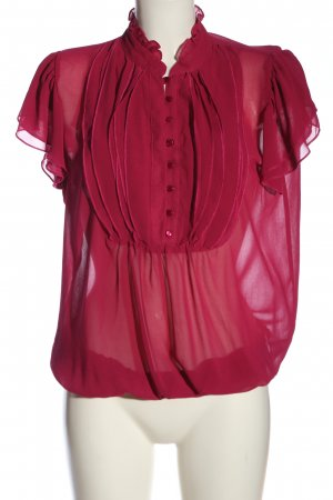 Dorothy Perkins Kurzarm-Bluse pink Casual-Look