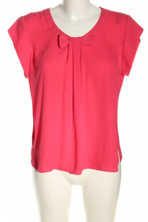 Dorothy Perkins Kurzarm-Bluse pink Business-Look