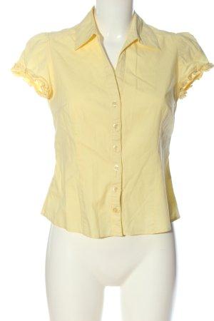 Dorothy Perkins Chemise à manches courtes jaune primevère style décontracté