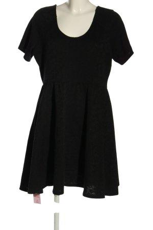 Dorothy Perkins Kurzarmkleid schwarz Casual-Look