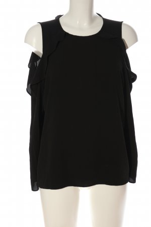 Dorothy Perkins Langarm-Bluse schwarz Casual-Look
