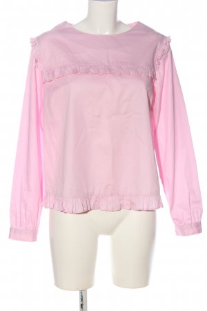 Dorothy Perkins Langarm-Bluse pink Casual-Look