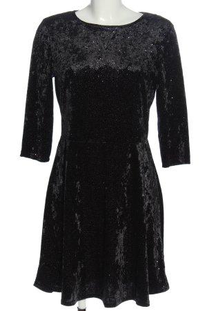 Dorothy Perkins Longsleeve Dress black-silver-colored elegant