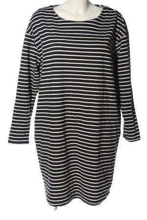 Dorothy Perkins Longsleeve Dress black-white striped pattern casual look