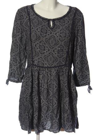 Dorothy Perkins Longsleeve Dress black-white allover print casual look