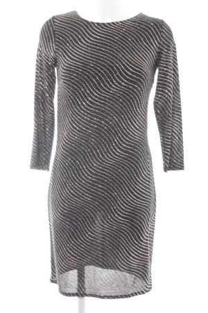 Dorothy Perkins Longsleeve Dress striped pattern glittery
