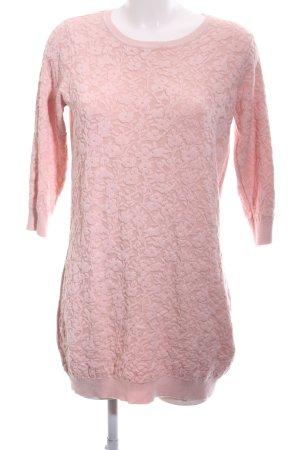 Dorothy Perkins Maglione lungo rosa motivo floreale stile casual