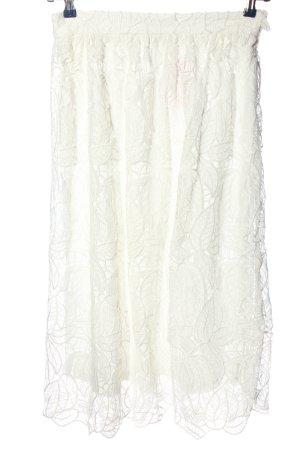 Dorothy Perkins Spódnica midi biały W stylu casual