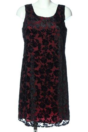 Dorothy Perkins Minikleid rot-schwarz Elegant