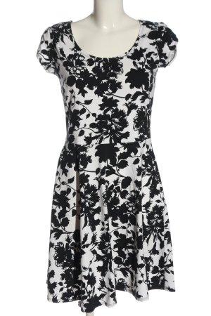 Dorothy Perkins Mini Dress white-black allover print casual look