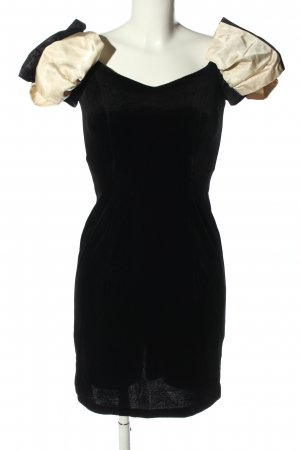 Dorothy Perkins Minikleid schwarz-wollweiß Casual-Look