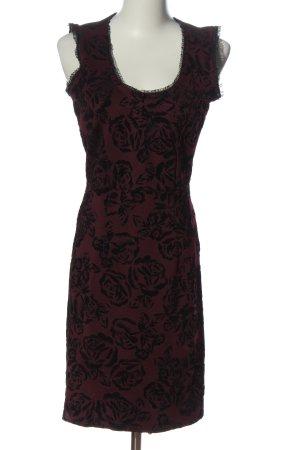 Dorothy Perkins Etuikleid braun-schwarz abstraktes Muster Casual-Look