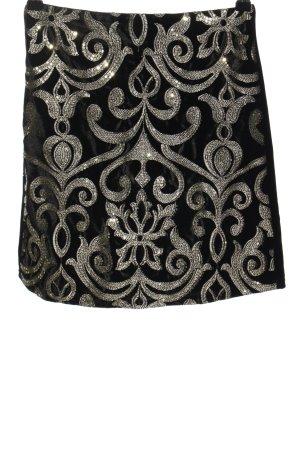 Dorothy Perkins Minirock schwarz-silberfarben Elegant