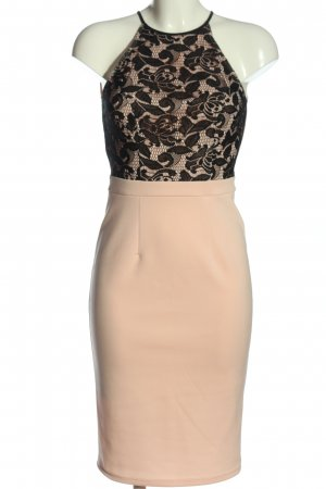 Dorothy Perkins Halter Dress cream-black elegant