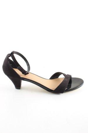 Dorothy Perkins Riemchenpumps schwarz Elegant