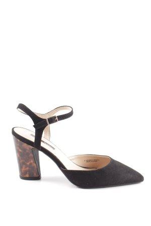 Dorothy Perkins Riemchenpumps schwarz-braun Elegant