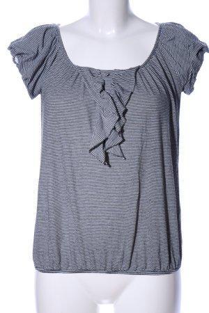 Dorothy Perkins Stripe Shirt light grey-black allover print casual look