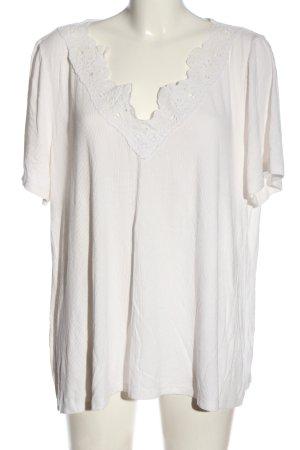 Dorothy Perkins Chemise côtelée blanc cassé style décontracté