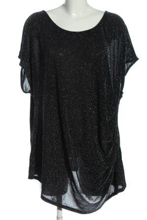Dorothy Perkins Slip-over Blouse black wet-look