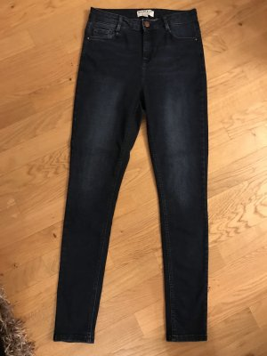 Dorothy Perkins High Waist Jeans dark blue