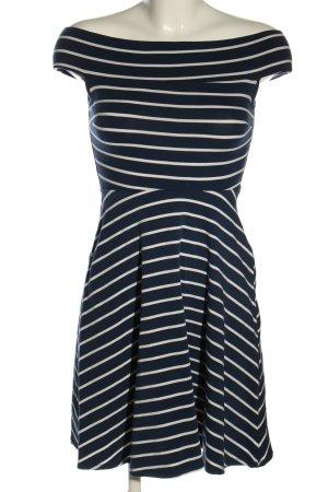 Dorothy Perkins Shirtkleid blau-weiß Streifenmuster Casual-Look