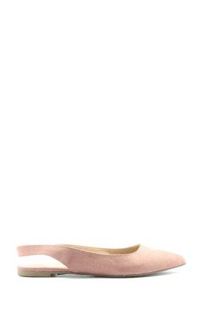 Dorothy Perkins Ballerina aperta sul tallone rosa stile casual