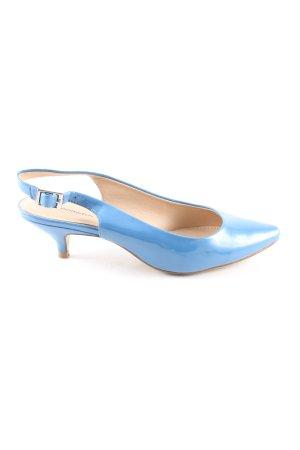 Dorothy Perkins Slingback-Pumps blau Casual-Look
