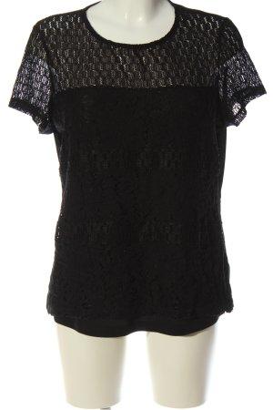 Dorothy Perkins Kanten blouse zwart elegant