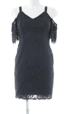 Dorothy Perkins Spitzenkleid schwarz Elegant