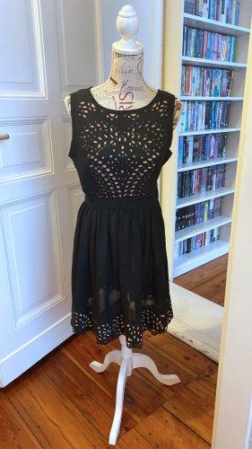 Dorothy Perkins Tigers Eye Kleid mit Zierausschnitten Gr. 38