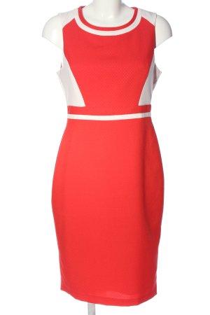 Dorothy Perkins Trägerkleid rot-weiß Elegant