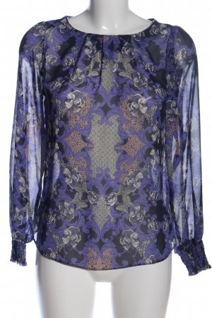 Dorothy Perkins Transparenz-Bluse abstraktes Muster Casual-Look