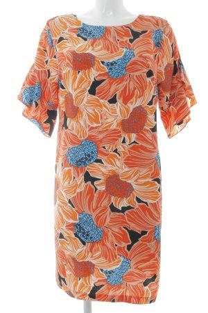 Dorothy Perkins Tunikakleid orange-hellblau Beach-Look