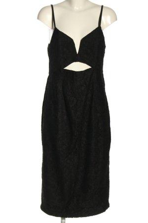 Dotti Evening Dress black allover print elegant
