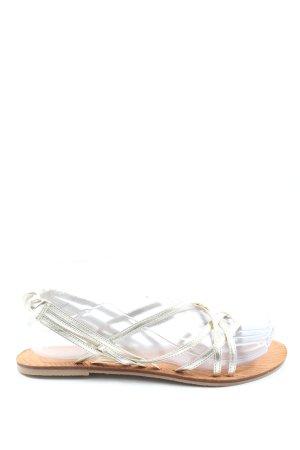 Dotti Sandalias Dianette blanco puro look casual