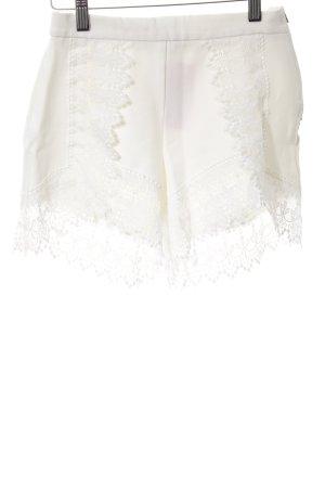 Dotti High-Waist-Shorts weiß Elegant