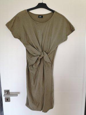 Dotti S Kleid khaki used batik wash