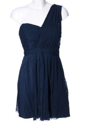 Dotti schulterfreies Kleid blau Casual-Look