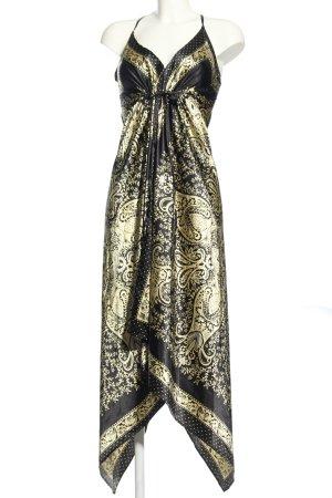 Dotti Pinafore dress black-primrose mixed pattern casual look