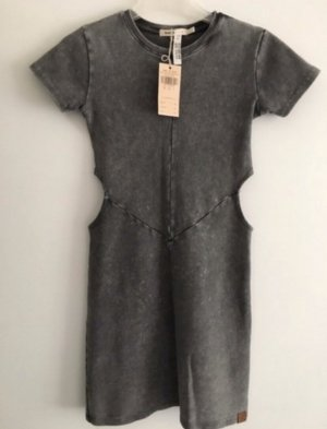 Double Agent Cut Out Dress grey