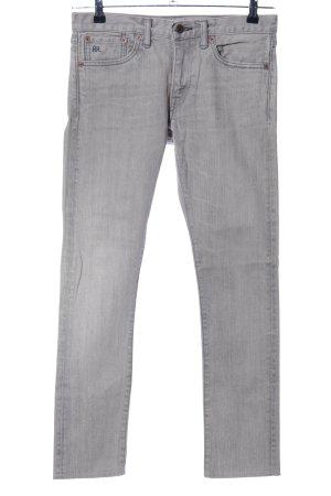 Ralph Lauren Skinny Jeans hellgrau Casual-Look