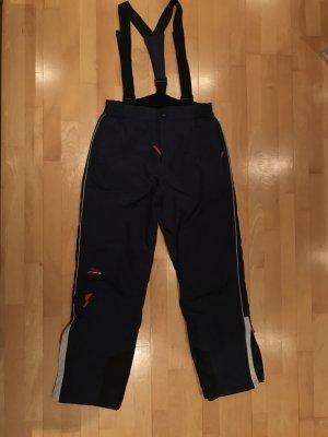 Double Speed Pantalón de esquí azul oscuro