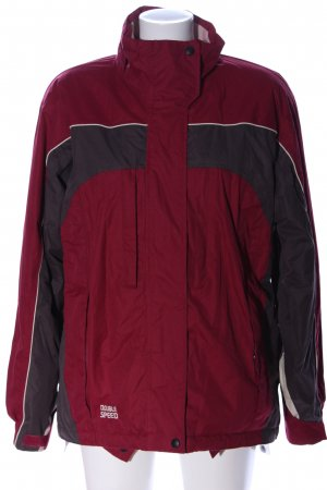 Double Speed Sports Jacket red-black casual look