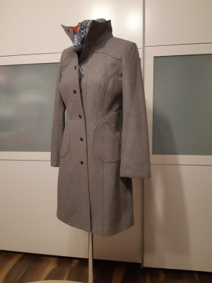 Orsay Duffel Coat silver-colored-light grey wool