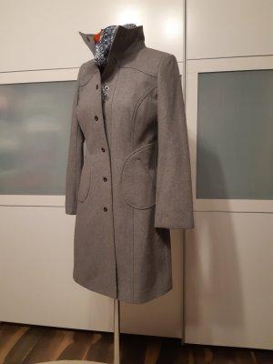 Orsay Trenca color plata-gris claro Lana