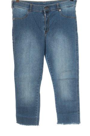 Dr. Denim Jeans a 7/8 blu stile casual
