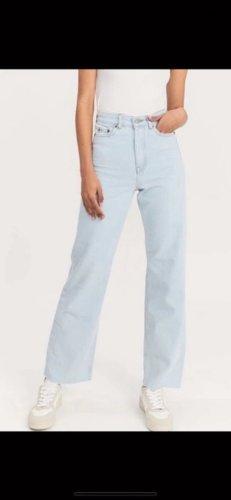 Dr. Denim Straight Leg Jeans light blue